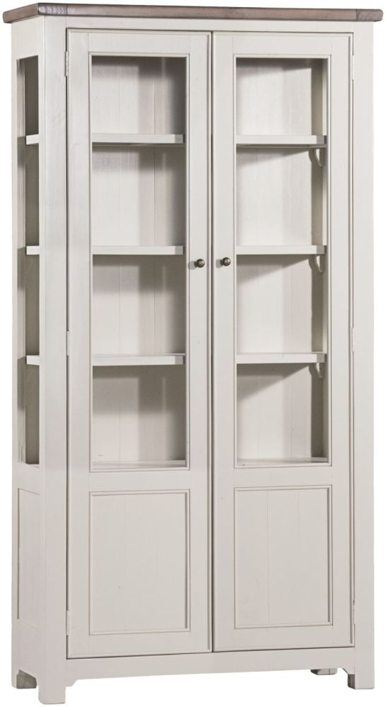 Brompton Reclaimed Display Cabinet - 2 Door Large