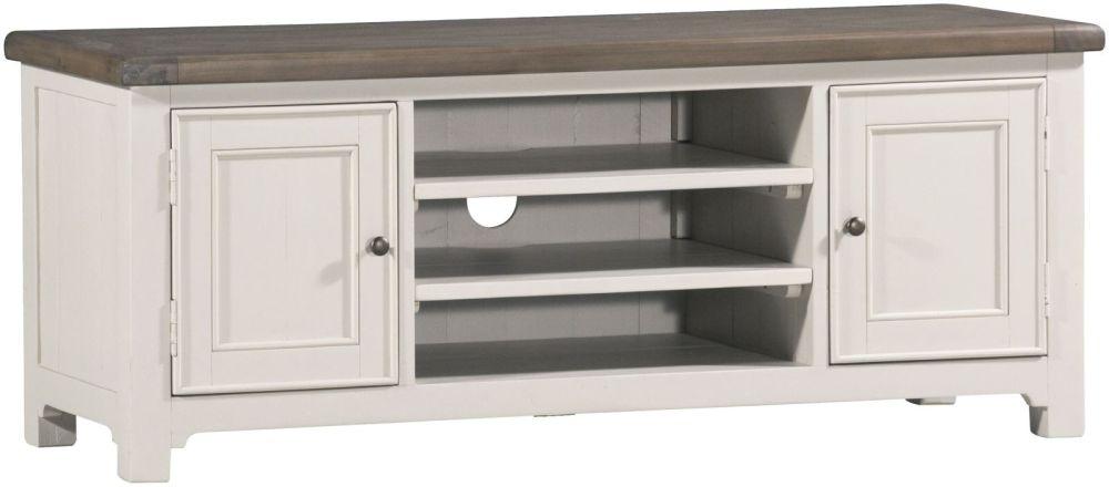 Brompton Reclaimed 2 Door TV Cabinet