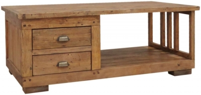 Camrose Reclaimed Pine Coffee Table