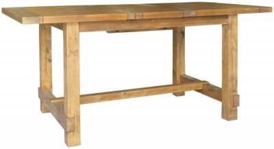 Camrose Reclaimed Pine Extending Dining Table