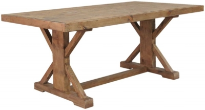 Camrose Reclaimed Pine Monastery Dining Table