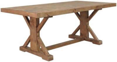 Camrose Reclaimed Pine Monastery Dining Table