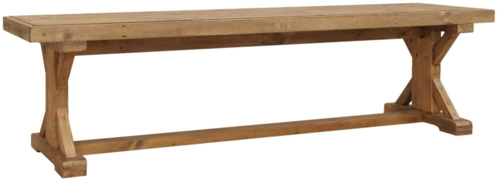 Camrose Reclaimed Pine Bench
