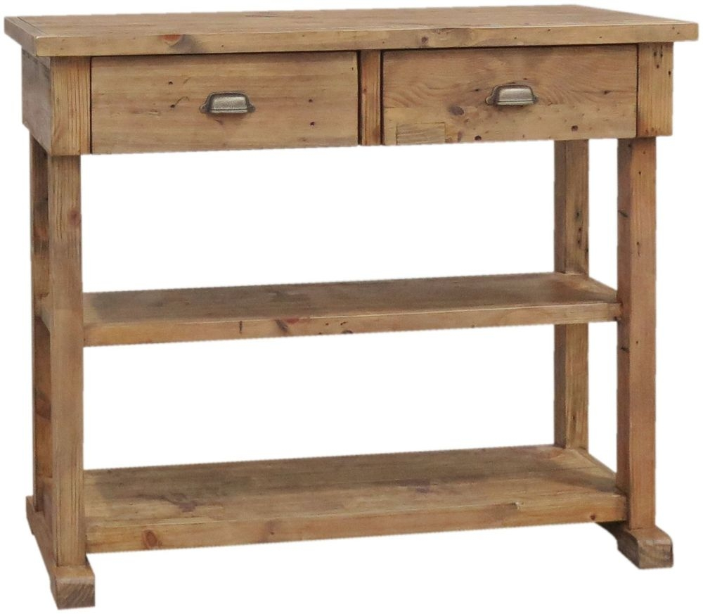 Buy camrose reclaimed pine console table online cfs uk camrose reclaimed pine console table geotapseo Gallery