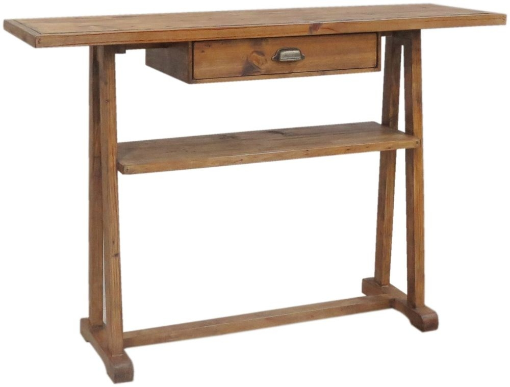 Camrose Reclaimed Pine Hall Table
