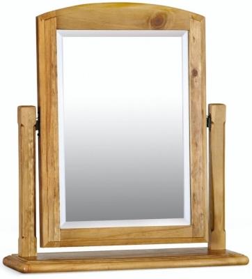 Clearance Windsor Pine Swivel Mirror