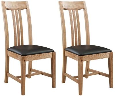 Colorado Oak Dining Chair (Pair)