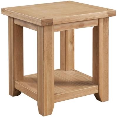 Colorado Oak Lamp Table