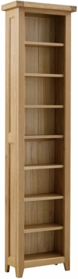 Colorado Oak Tall Bookcase