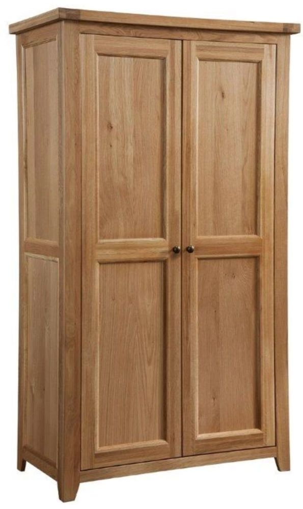 Colorado Oak 2 Door Double Wardrobe
