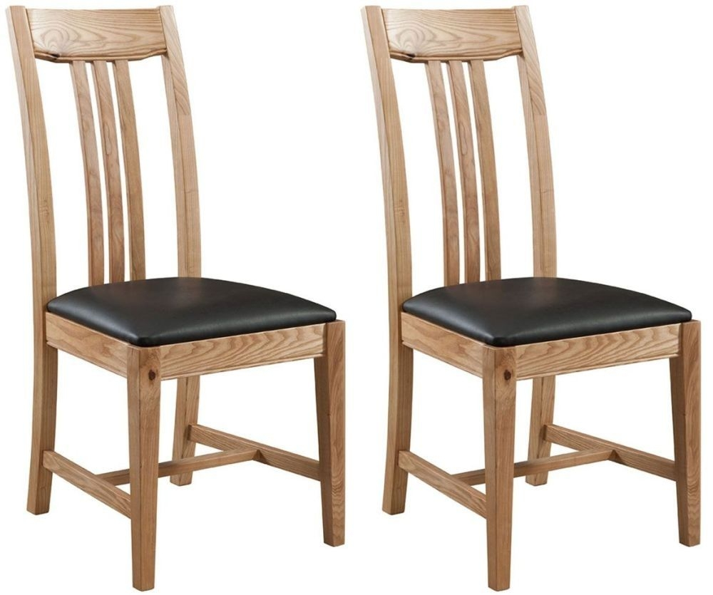 Colorado Oak Dining Chair (Pair)