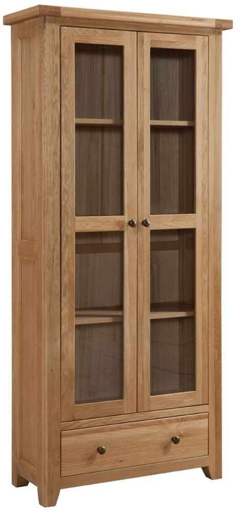 Colorado Oak Display Cabinet