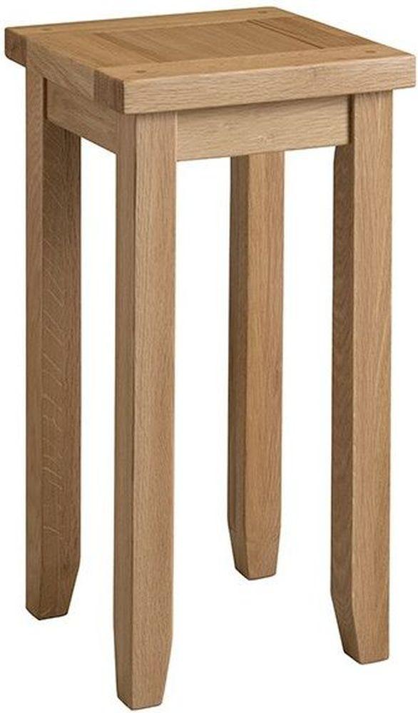 Colorado Oak Tall Lamp Table