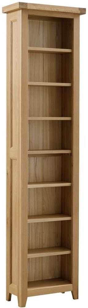 Colorado Oak Narrow Bookcase