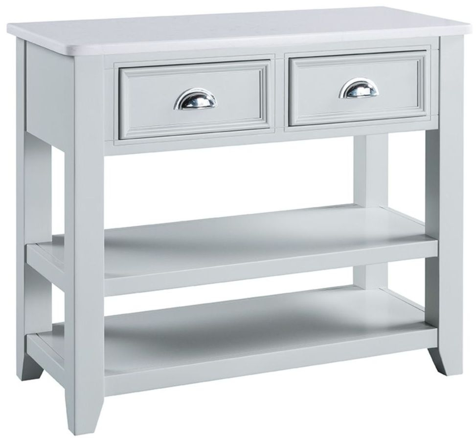 Compton Grey Painted Console Table