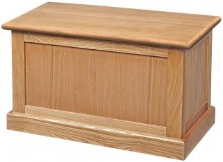 Dalton Oak Blanket Box