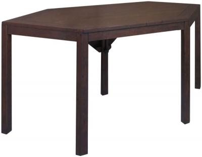Driftwood Dark Reclaimed Pine Corner Desk