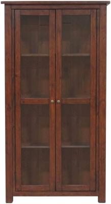 Driftwood Reclaimed Pine Glazed Display Cabinet