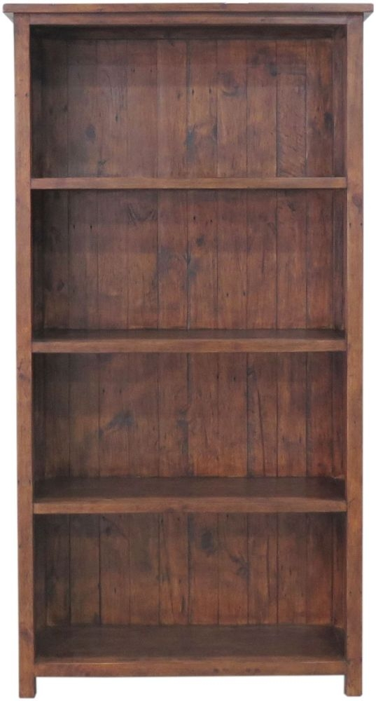 Driftwood Reclaimed Pine Bookcase - 3 Shelves