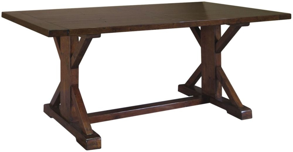 Driftwood Reclaimed Pine Refectory Dining Table