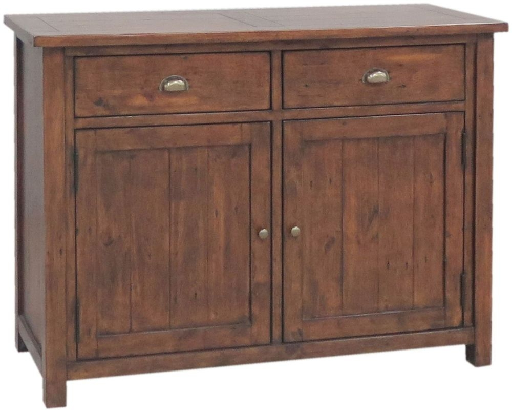 Driftwood Reclaimed Pine Sideboard - 2 Door 2 Drawer Narrow