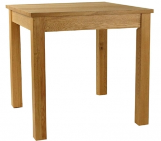 Essentials Oak Dining Table - Small Square