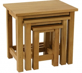 Essentials Oak Nest of Tables