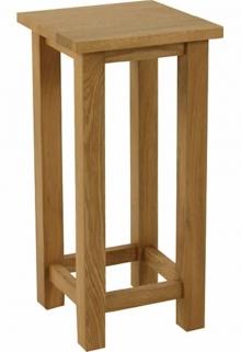 Essentials Oak Wine Table - Square