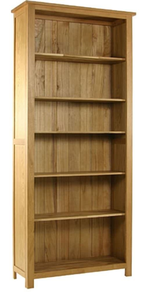 Essentials Oak Bookcase - Tall