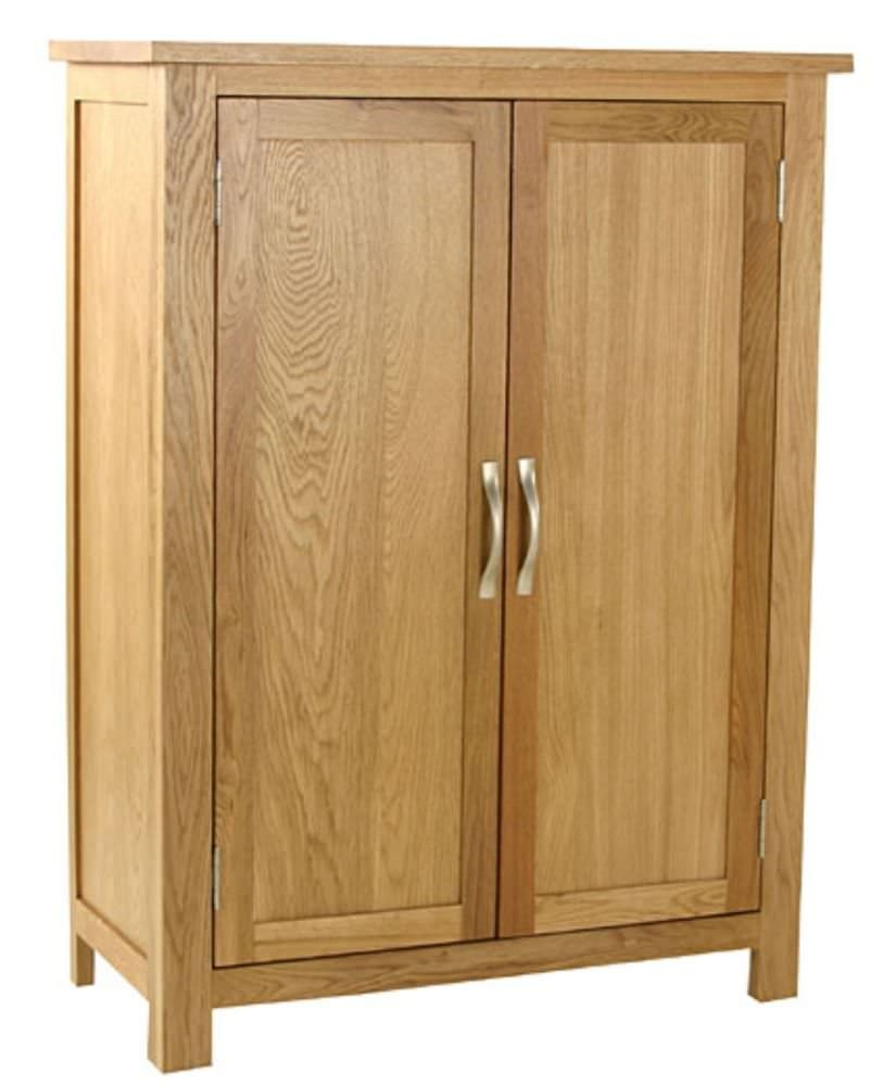 Buy essentials oak cupboard 2 door online cfs uk for Door furniture