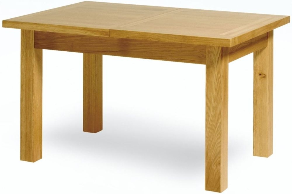 Essentials Oak Small Extending Dining Table