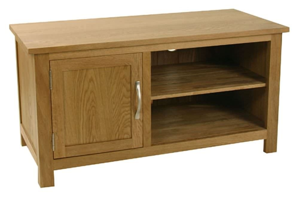 Essentials Oak TV Unit - 1 Door