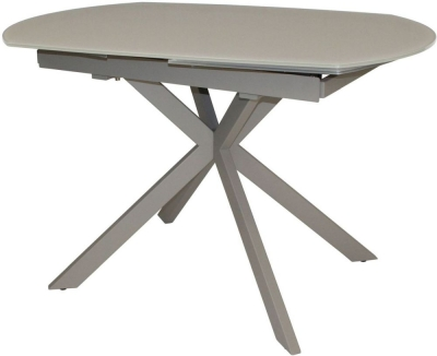 Flux Cappuccino 120cm-180cm Extending Motion Dining Table