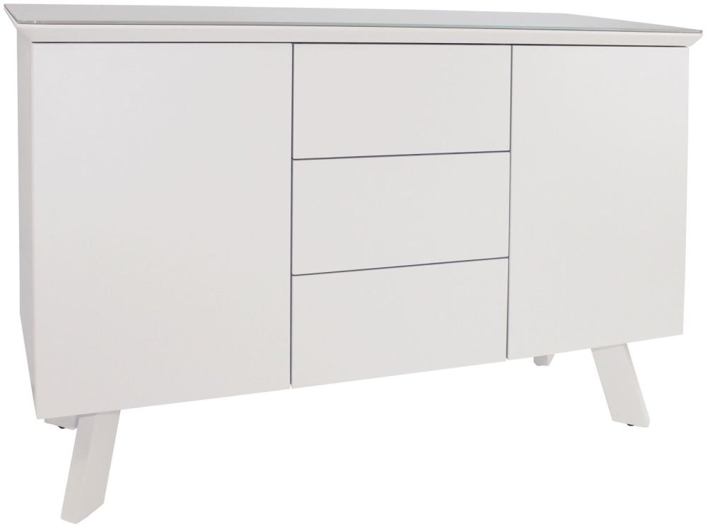 Flux White Small Sideboard