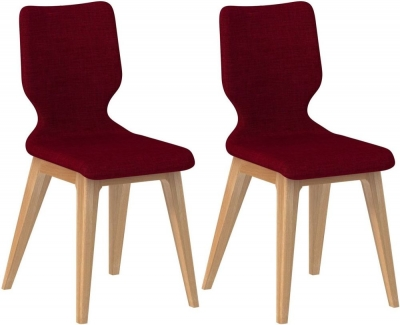 Forma Fabric Dining Chair (Pair)