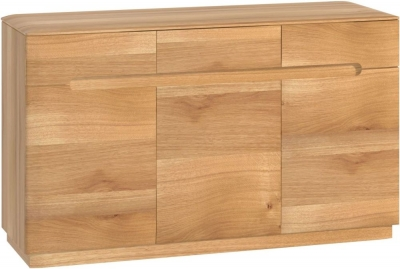 Forma Oak 3 Door Sideboard