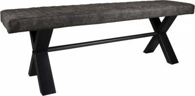 Fusion Upholstered 140cm Dining Bench