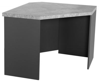 Fusion Stone Effect Corner Desk