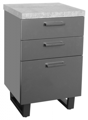 Fusion Stone Effect Filing Cabinet