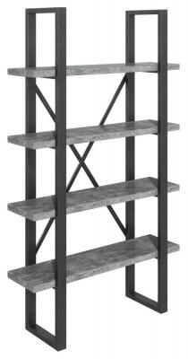 Fusion Stone Effect Shelf Unit