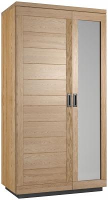 Fusion Oak 2 Door Wardrobe