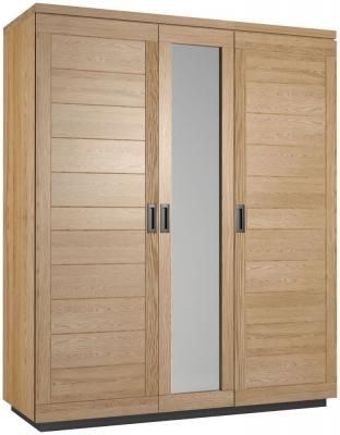 Fusion Oak 3 Door Wardrobe