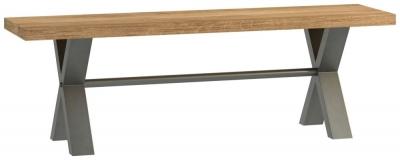 Fusion Oak 140cm Bench