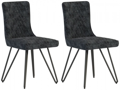 Fusion Fabric Dining Chair (Pair)