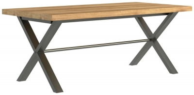 Fusion Oak 190cm Dining Table