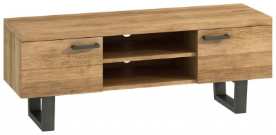 Fusion Oak 2 Door TV Unit