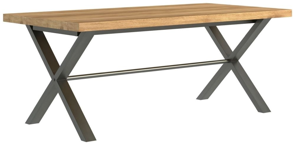 Fusion Oak Large Dining Table