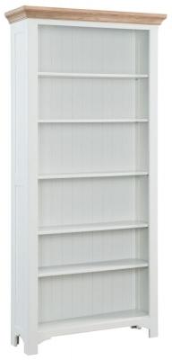 Georgia Grey Painted Bookcase