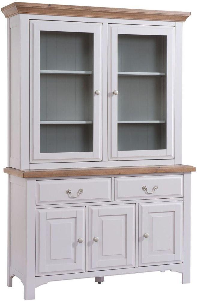 Georgia Dresser - Oak and Grey Painted