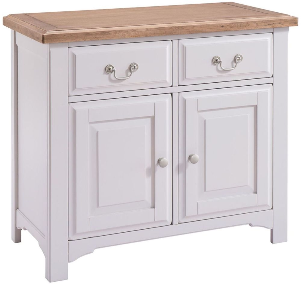Georgia Small Sideboard - Oak and Grey Painted